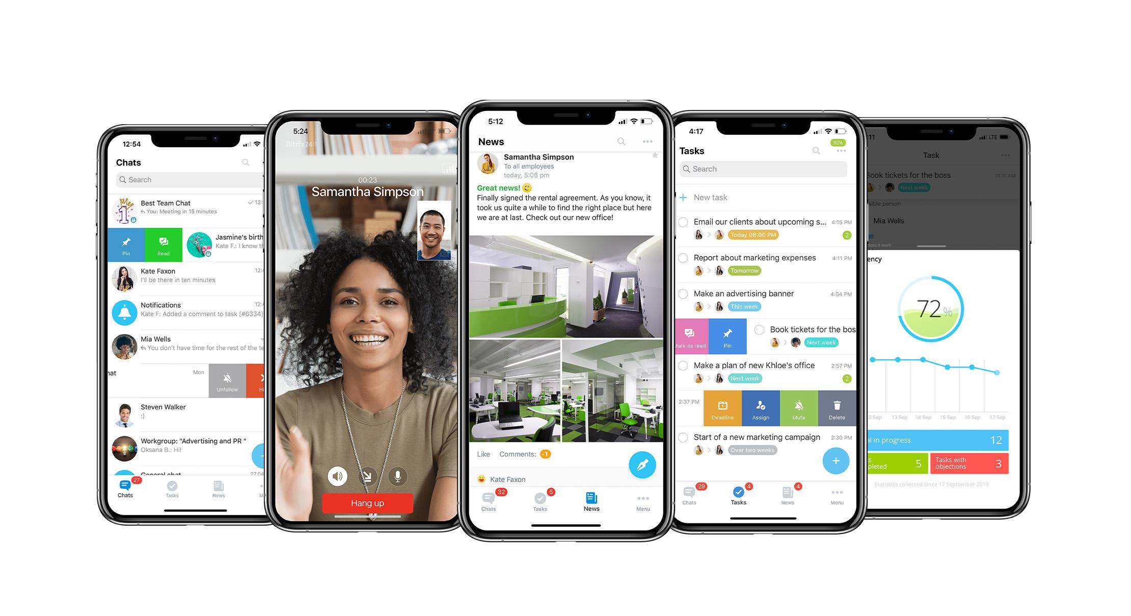 bitrix24 mobil uygulama
